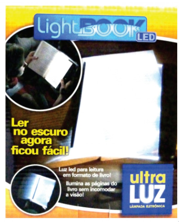 Light Book Excelente para Grau 3 Dispensando o Uso de Lanterna CÓD.LB01